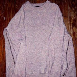 j. crew pastel multi color sweater knit top